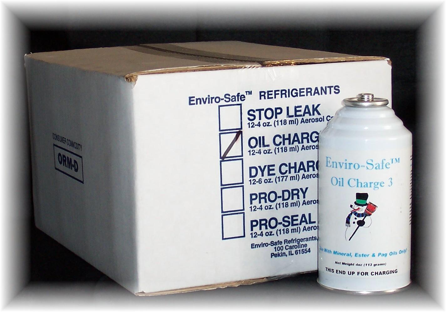 Oil Charge 4oz Aerosol Can (Case/12)
