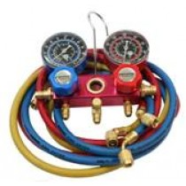 R12/134a Professional Gauge Set